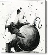 Boom Panda Acrylic Print