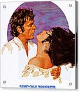 Boom, Us Poster, Richard Burton Acrylic Print