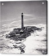 Boon Island Light Tower Circa 1950 Acrylic Print by Aged Pixel