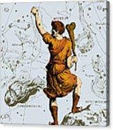 Bootes Constellation, 1687 Acrylic Print