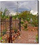Boothill Cemetary Image Acrylic Print