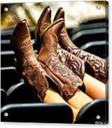 Boots Up Acrylic Print