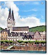 Boppard, Germany, Rhineland-palatinate Acrylic Print