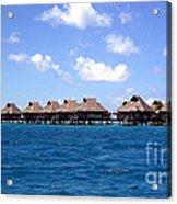 Bora Bora Lagoon Acrylic Print