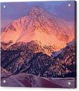 Borah Peak  Acrylic Print