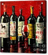 Bordeaux Collection Acrylic Print