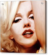 Born Blonde - Or Was She? Acrylic Print