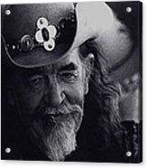 Born To The West Homage 1937 Buffalo Bill Helldorado Days Tombstone Arizona 1968-2008 Acrylic Print