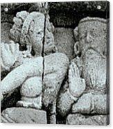 Borobudur Apsara Dancer Acrylic Print