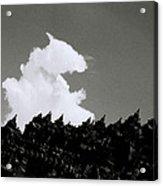 Borobudur Sky Cloud Acrylic Print
