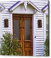 Borough Door Acrylic Print