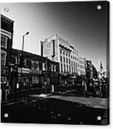 borough high street morning London England UK Acrylic Print