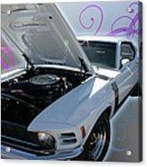 Boss 302 Mustang Acrylic Print