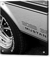 Boss 351 Mustang Acrylic Print