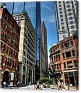 Boston 007 Acrylic Print by Lance Vaughn