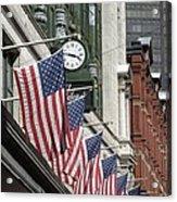 Boston 4th Of July Acrylic Print