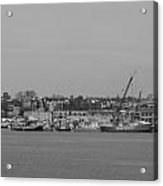 Boston Boats Acrylic Print