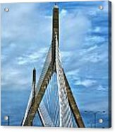 Boston Bridge Acrylic Print by Melanie McKinney