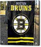 Boston Bruins Flag Acrylic Print