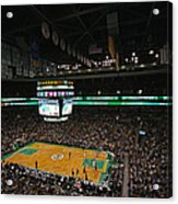 Boston Celtics Basketball Acrylic Print