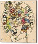 Boston Celtics Logo Vintage Acrylic Print
