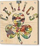 Boston Celtics Poster Art Acrylic Print