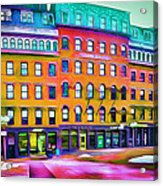 Boston Colors 1 Acrylic Print by Yury Malkov
