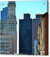 Boston Financial District Acrylic Print