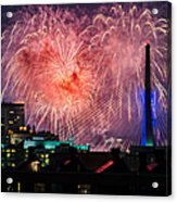 Boston Fireworks 1 Acrylic Print