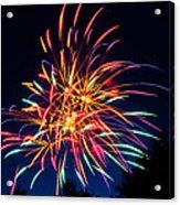Boston Fireworks Acrylic Print