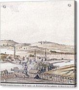Boston Harbor, 1775 Acrylic Print