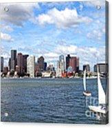 Boston Harbor Acrylic Print