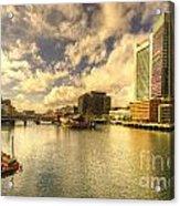 Boston Harbour  Acrylic Print
