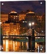 Boston Lagoon Bridge 2 Acrylic Print by Joann Vitali