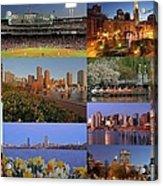 Boston Landmarks Photography  Acrylic Print by Juergen Roth