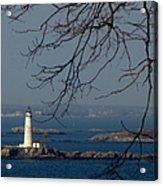 Boston Lighthouse Acrylic Print
