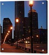 Boston Lights Acrylic Print