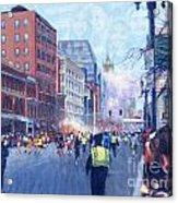 Boston Marathon Angels Acrylic Print
