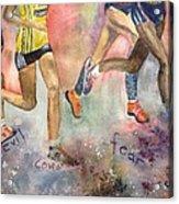 Boston Marathon Strength Acrylic Print