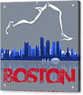 Boston Marathon3 Acrylic Print