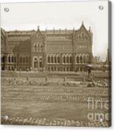 Boston Museum Of Fine Art On Copley Square Massachusetts Circa 1900 Acrylic Print