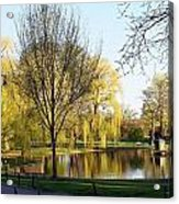 Boston Public Gardens Acrylic Print