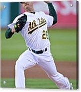 Boston Red Sox V Oakland Athletics Acrylic Print