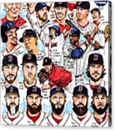 Boston Red Sox Ws Champions Acrylic Print