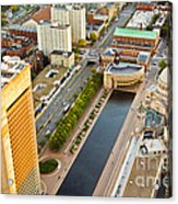 Boston Rooftops Acrylic Print