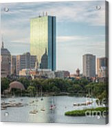 Boston Skyline I Acrylic Print by Clarence Holmes