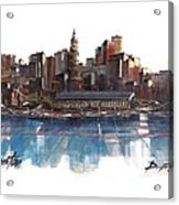 Boston Skyline  Number 3 Acrylic Print