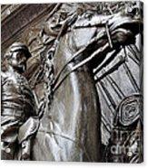Robert Gould Shaw Memorial Acrylic Print