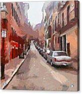 Boston Streets 1 Acrylic Print by Yury Malkov