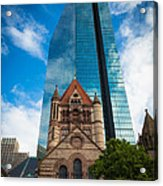 Boston Trinity Church Acrylic Print